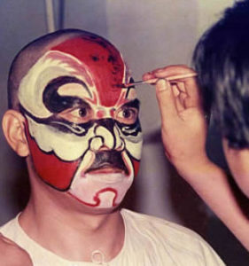 beijing opera face painting - huacui arts in los angeles